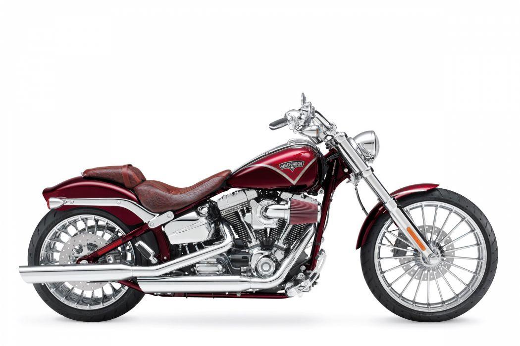 2013 Harley Davidson FXSBSE CVO Breakout   f wallpaper