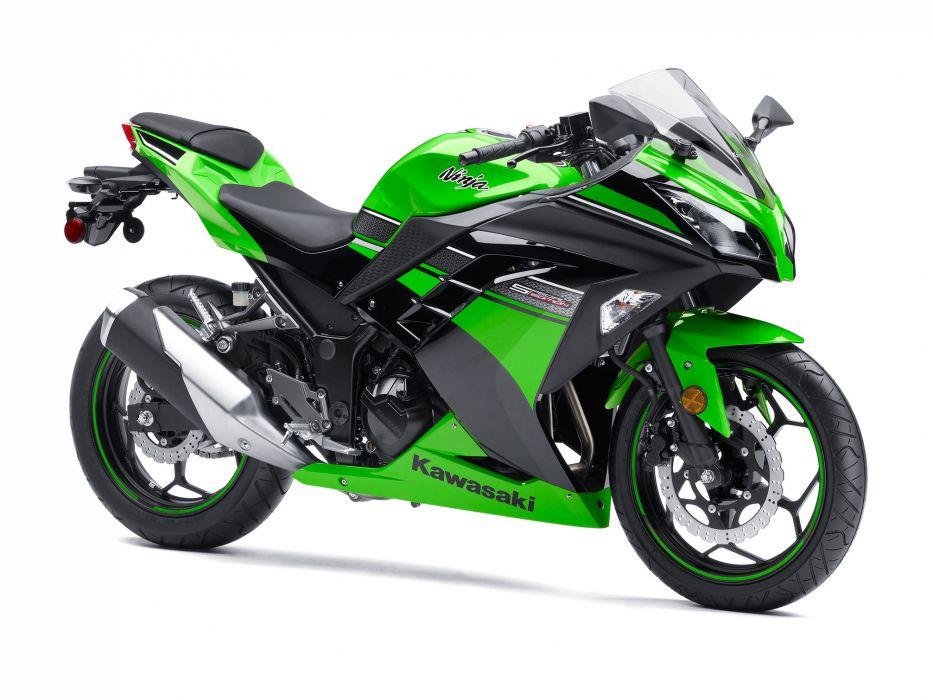 2013 Kawasaki Ninja 300 q wallpaper