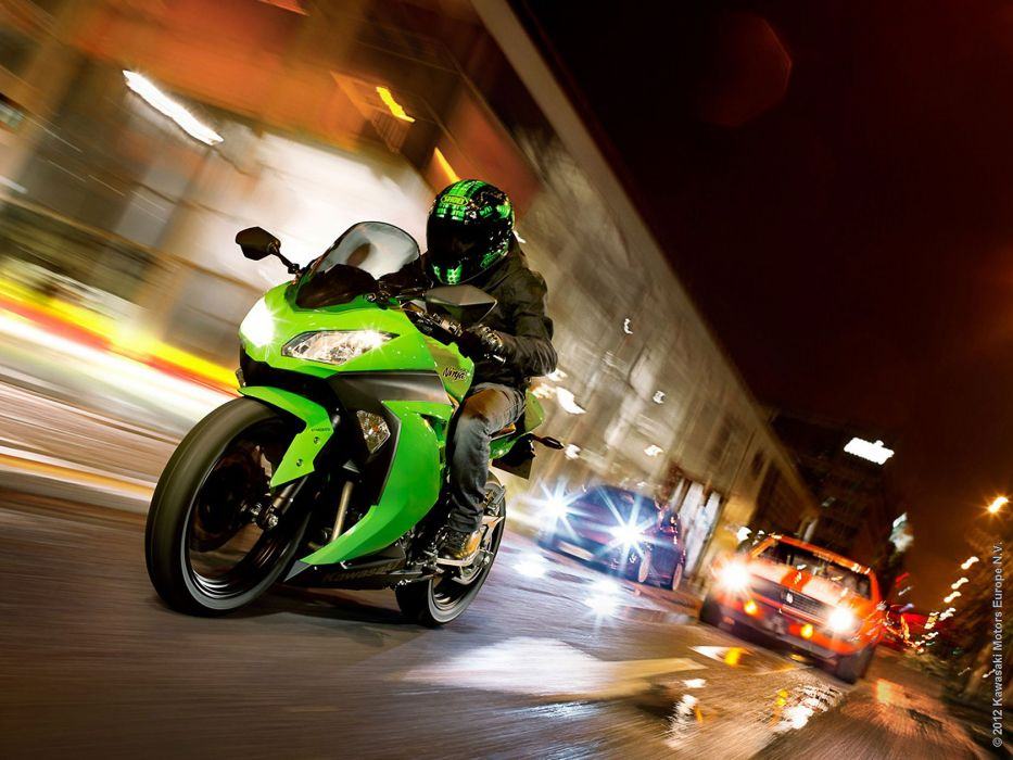 2013 Kawasaki Ninja 300R wallpaper