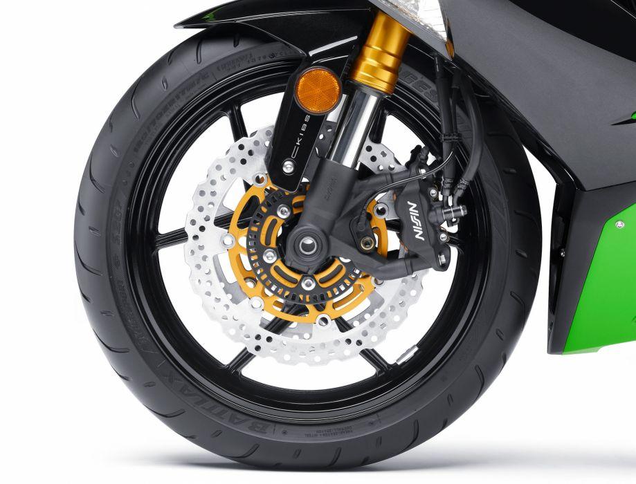 2013 Kawasaki Ninja ZX-6R ABS wheel wheels wallpaper