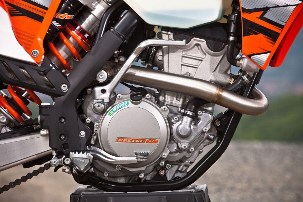 2013 KTM 350EXC-F engine engines wallpaper