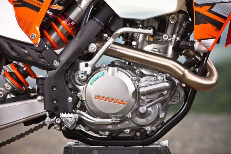 2013 KTM 500EXC engine engines wallpaper