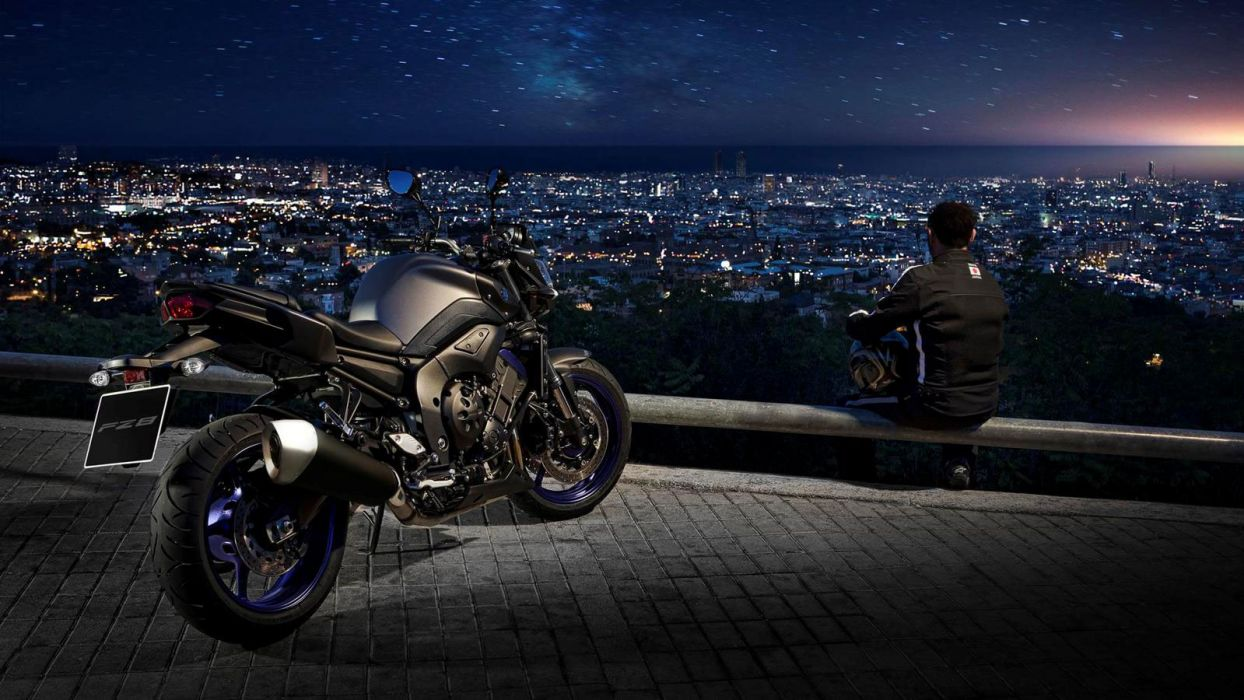 2013 Yamaha FZ8 q wallpaper