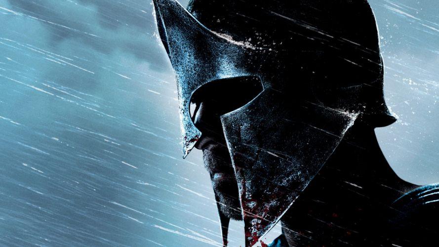 300 Rise of an Empire fantasy warrior warriors mask rain wallpaper
