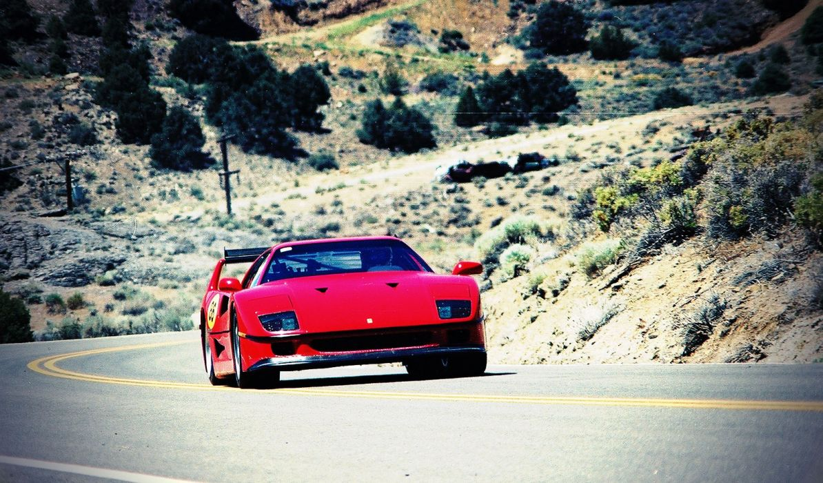 cars Ferrari vehicles supercars Ferrari F40 wallpaper