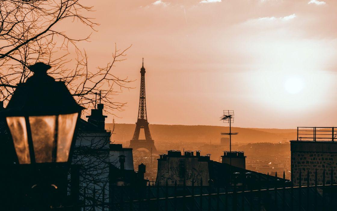 Eiffel Tower Paris cityscapes France cities wallpaper