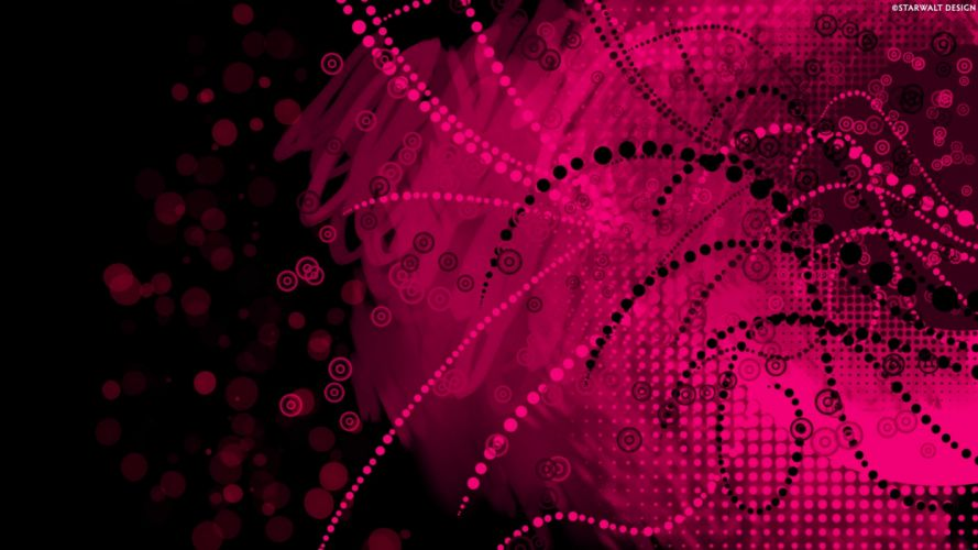abstract pink paint wallpaper