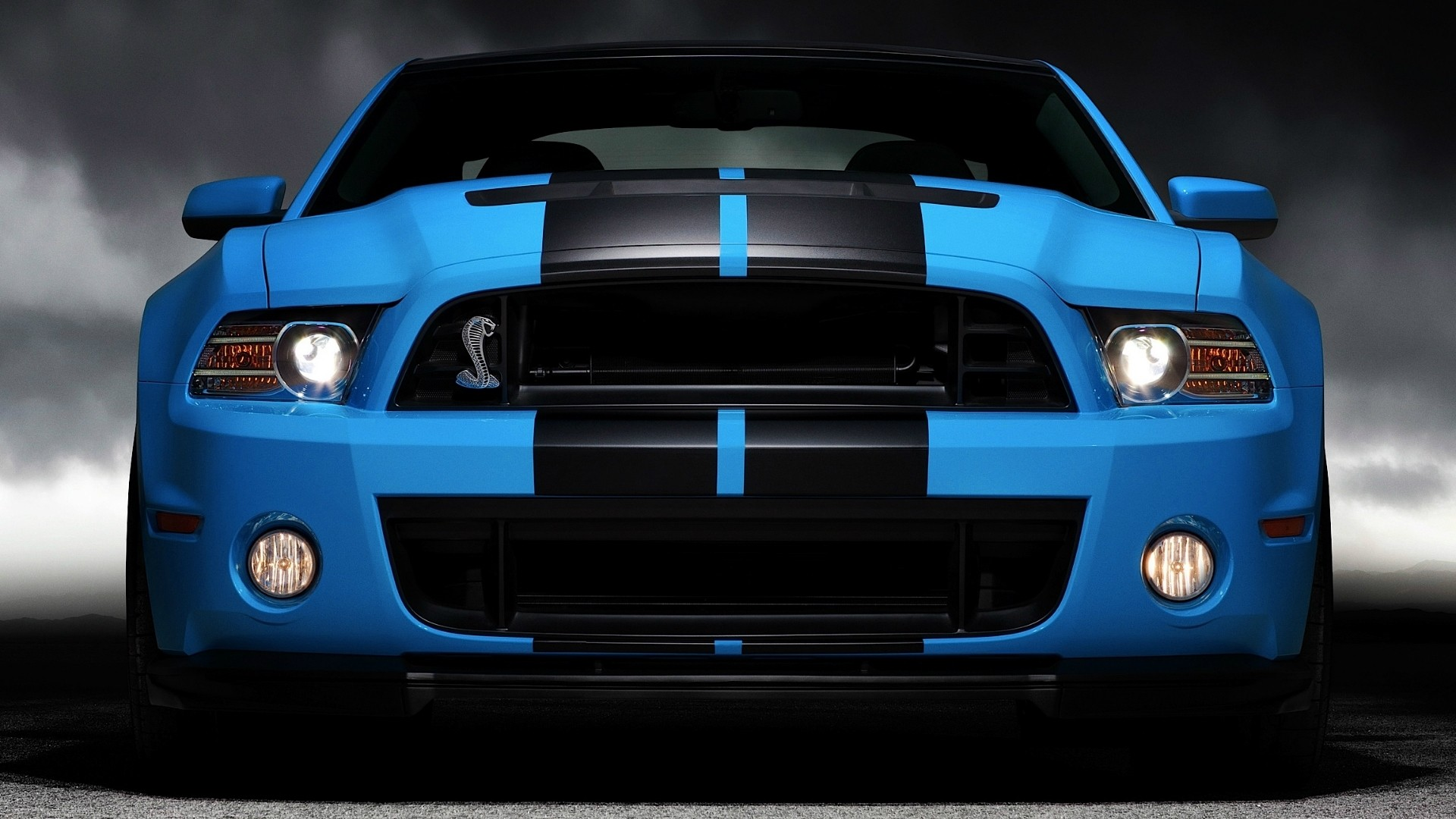 Blue Cars Vehicles Ford Mustang Ford Shelby Ford Mustang Shelby Gt500 Wallpaper 1920x1080 87717 Wallpaperup