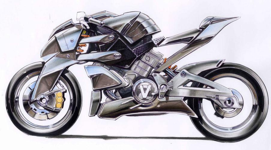 2009 Aprilia FV2 1200 Concept h wallpaper