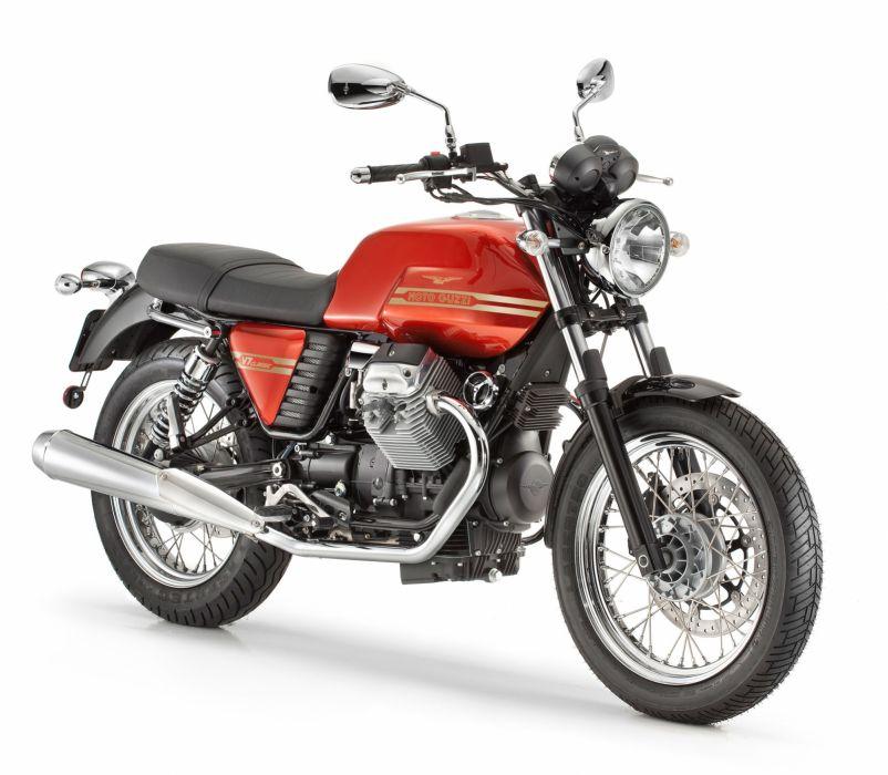 2013 Moto Guzzi V-7 Classic e wallpaper