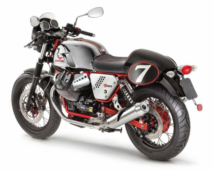 2013 Moto Guzzi V7 Racer   g wallpaper