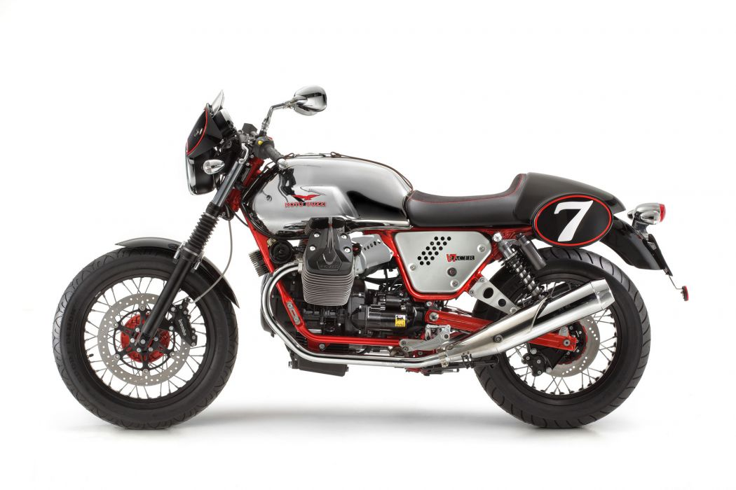 2013 Moto Guzzi V7 Racer r wallpaper