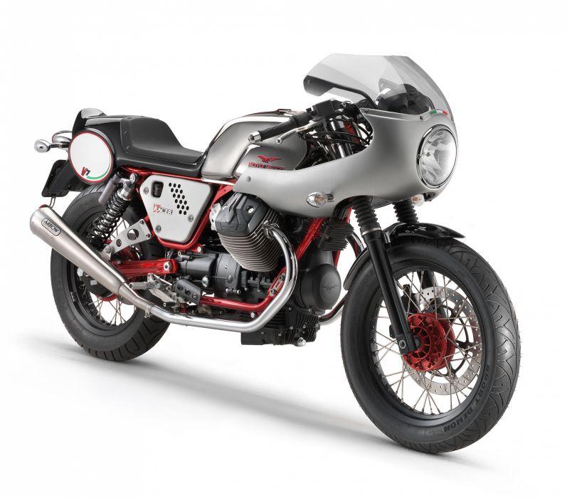 2013 Moto Guzzi V7 Racer t wallpaper