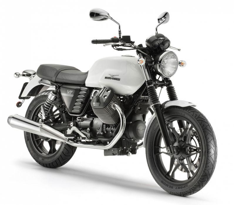 2013 Moto Guzzi V-7 Stone b wallpaper