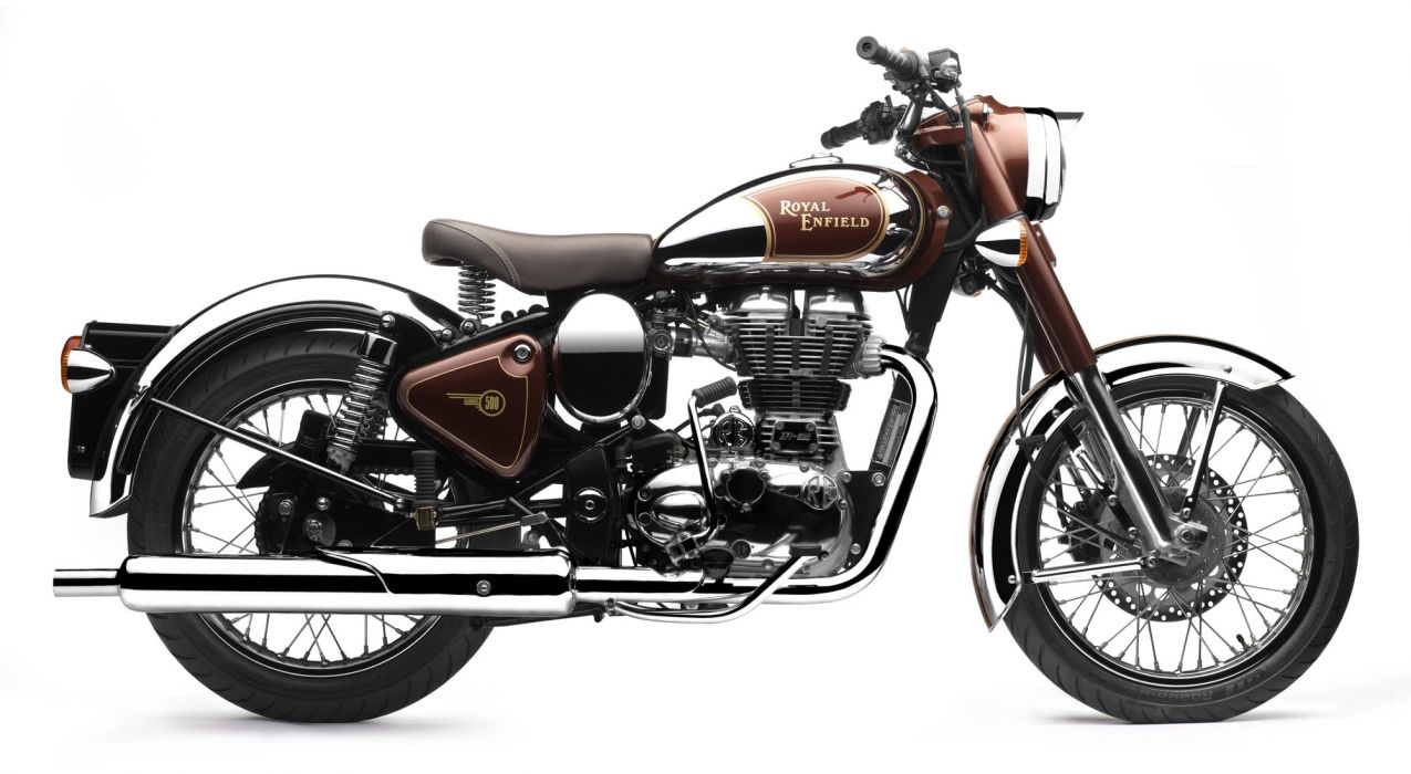 2013 Royal Enfield Bullet C-5 Classic Chrome f wallpaper