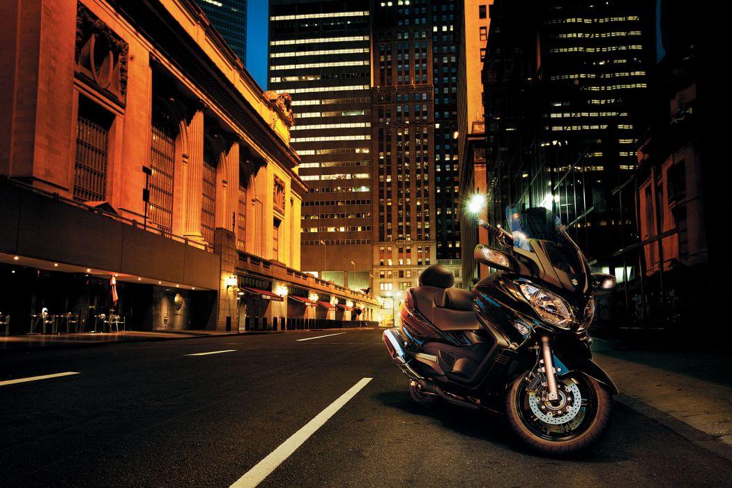 2013 Suzuki Burgman 650 Executive ABS   f wallpaper