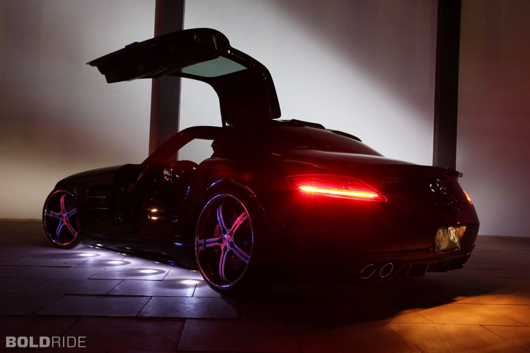 2012 MEC-Design Mercedes Benz SLS AMG tuning    y wallpaper