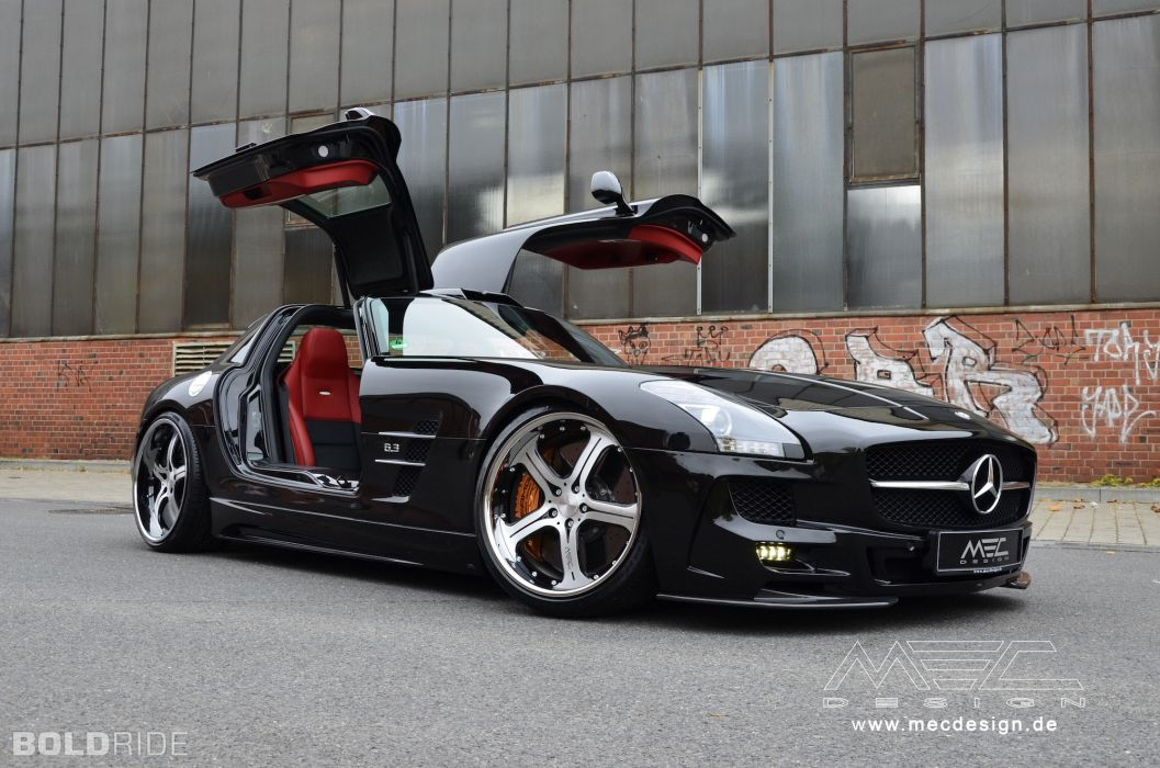 2012 MEC-Design Mercedes Benz SLS AMG tuning    h wallpaper
