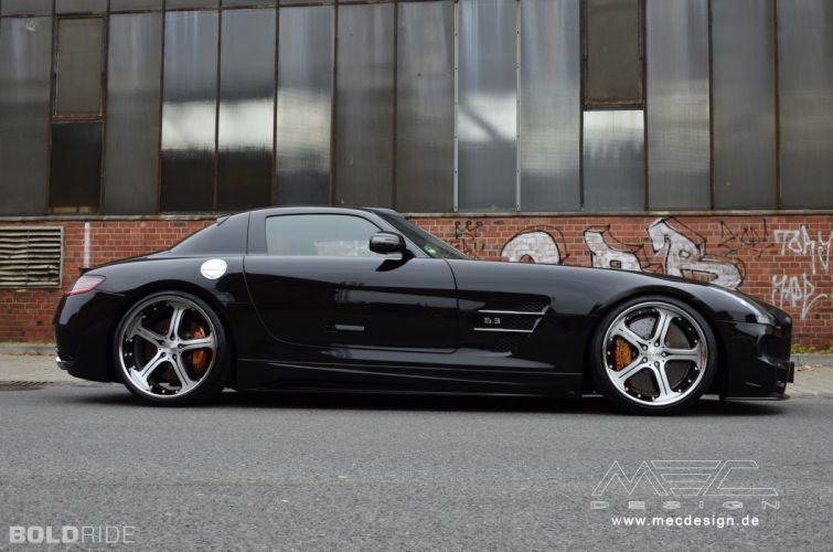 2012 MEC-Design Mercedes Benz SLS AMG tuning h wallpaper