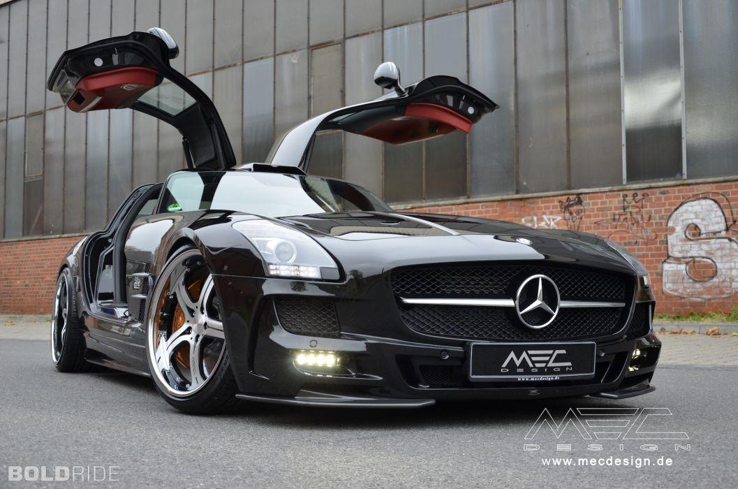 2012 MEC-Design Mercedes Benz SLS AMG tuning u wallpaper