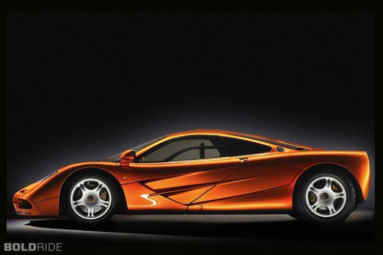 1993 McLaren F-1 supercar supercars f wallpaper