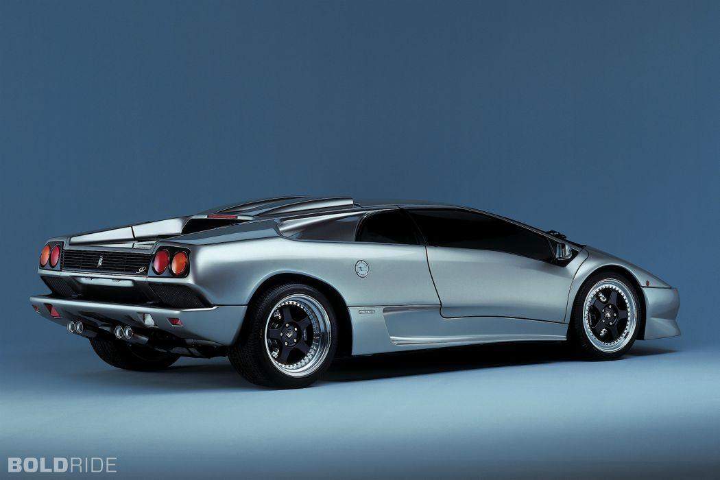 1996 Lamborghini Diablo S-V supercar supercars     f wallpaper