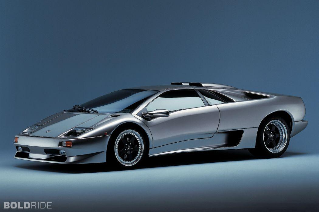 1996 Lamborghini Diablo S-V supercar supercars wallpaper
