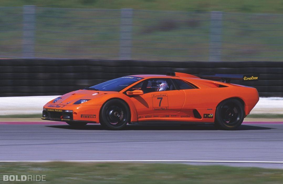 1999 Lamborghini Diablo Gtr Supercar Supercars E Wallpaper