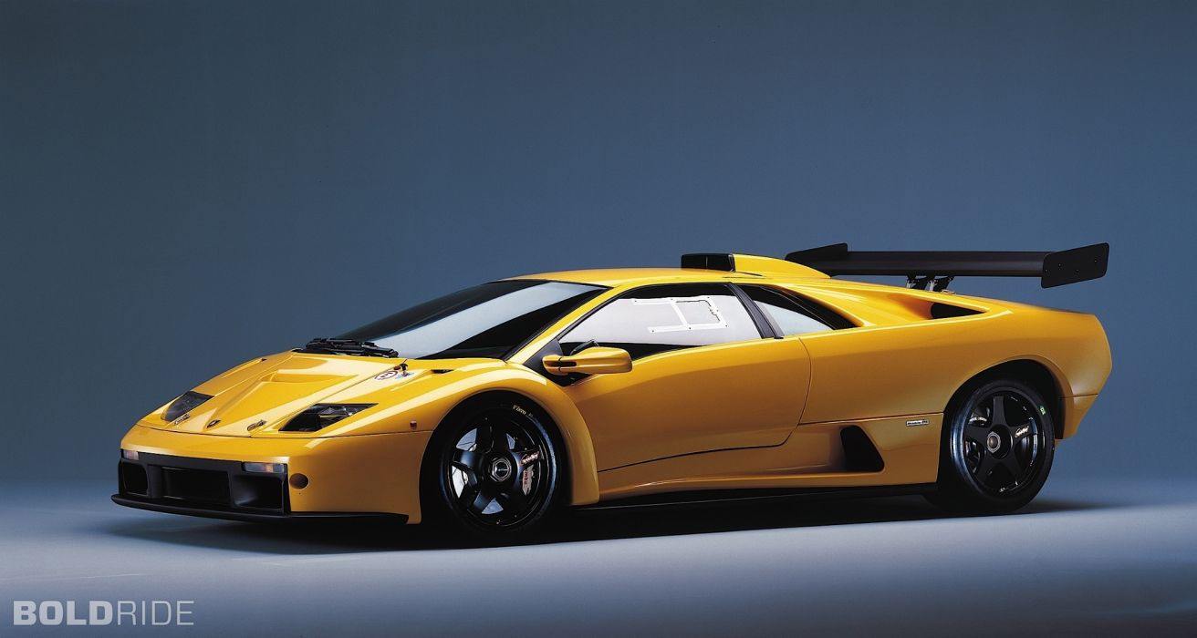 1999 Lamborghini Diablo GTR supercar supercars wallpaper