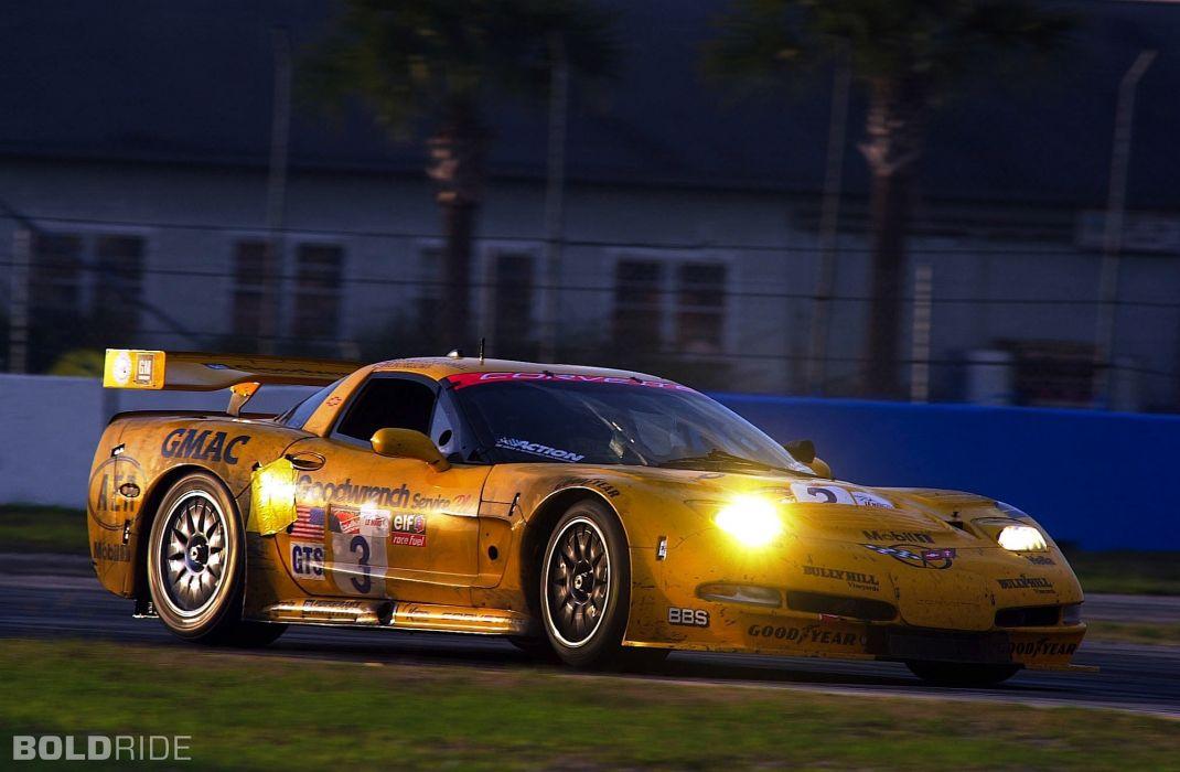 2001 Chevrolet Corvette C5-R supercar supercars race racing   i wallpaper