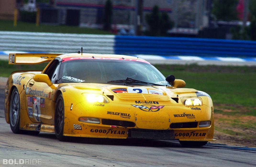 2001 Chevrolet Corvette C5-R supercar supercars race racing   o wallpaper