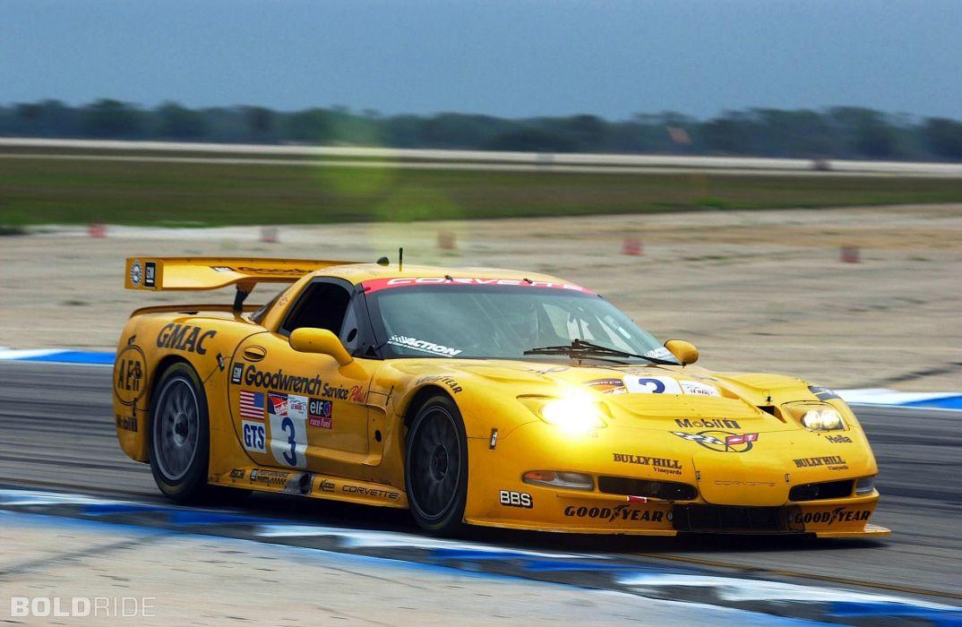 2001 Chevrolet Corvette C5-R supercar supercars race racing   k wallpaper