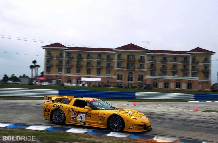 2001 Chevrolet Corvette C5-R supercar supercars race racing e wallpaper