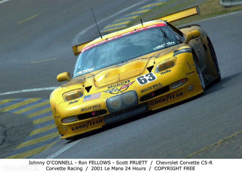 2001 Chevrolet Corvette C5-R supercar supercars race racing wallpaper