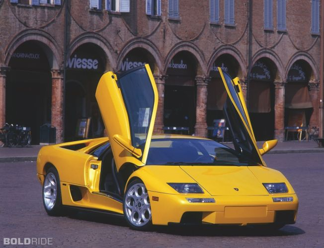 2001 Lamborghini Diablo 6-0 supercar supercars f wallpaper