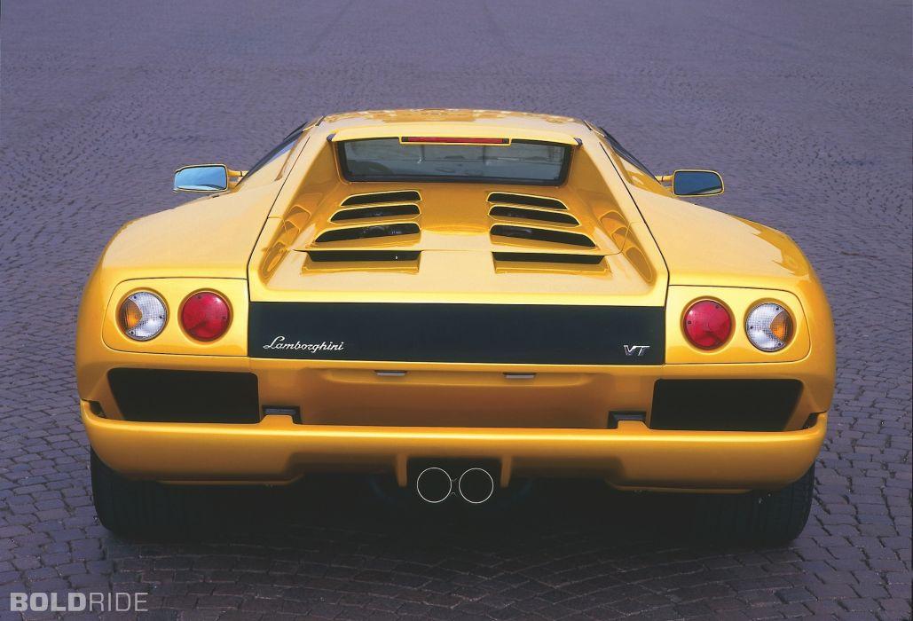 2001 Lamborghini Diablo 6-0 supercar supercars q wallpaper
