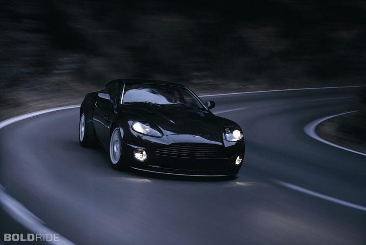 2004 Aston Martin Vanquish-S V12 Vanquish supercar supercars g wallpaper