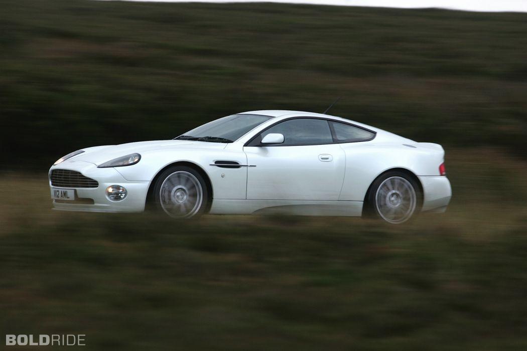 2004 Aston Martin Vanquish-S V12 Vanquish supercar supercars   j wallpaper
