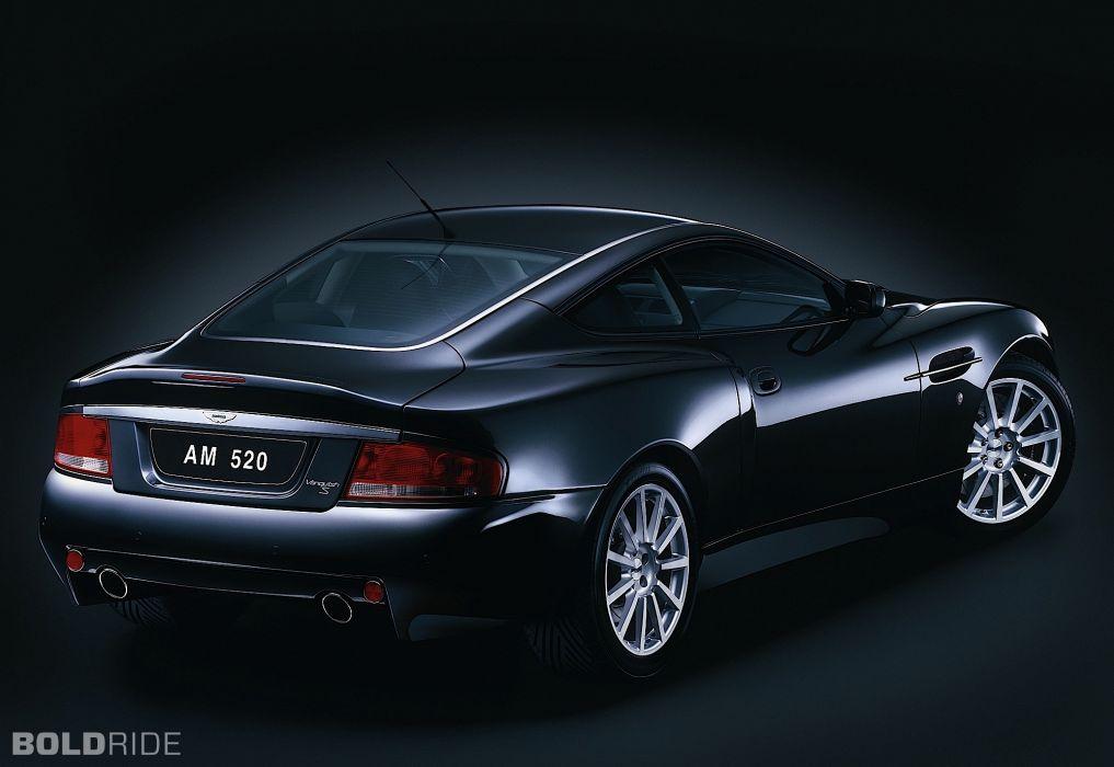 2004 Aston Martin Vanquish-S V12 Vanquish supercar supercars   f wallpaper