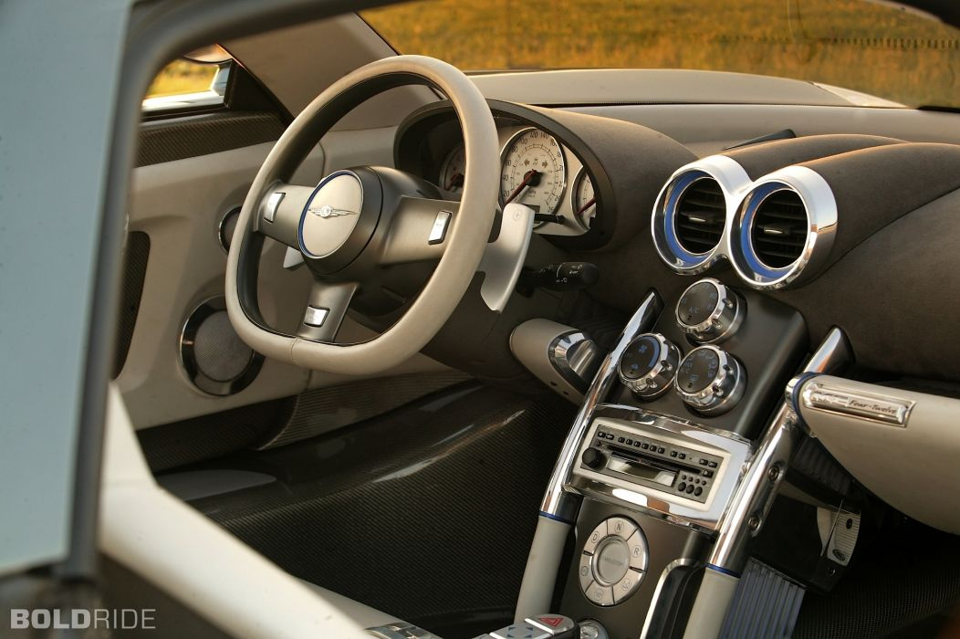2004 Chrysler M-E FourTwelve Concept supercar supercars interior wallpaper