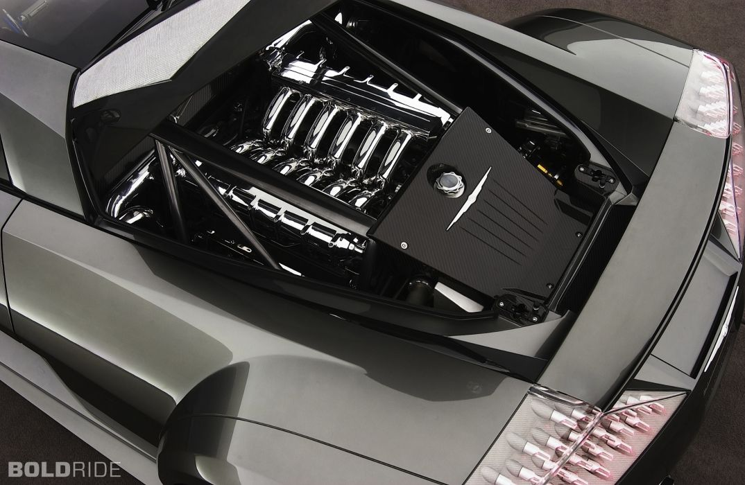 2004 Chrysler M E Fourtwelve Concept Supercar Supercars Engine