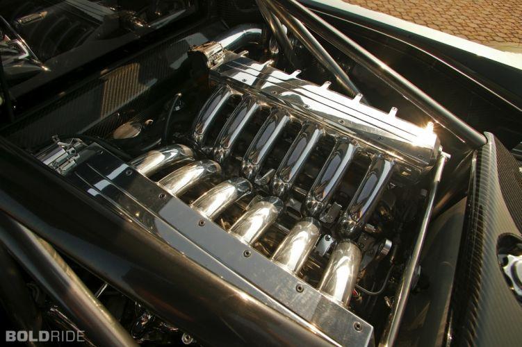 2004 Chrysler M-E FourTwelve Concept supercar supercars engine engines s wallpaper