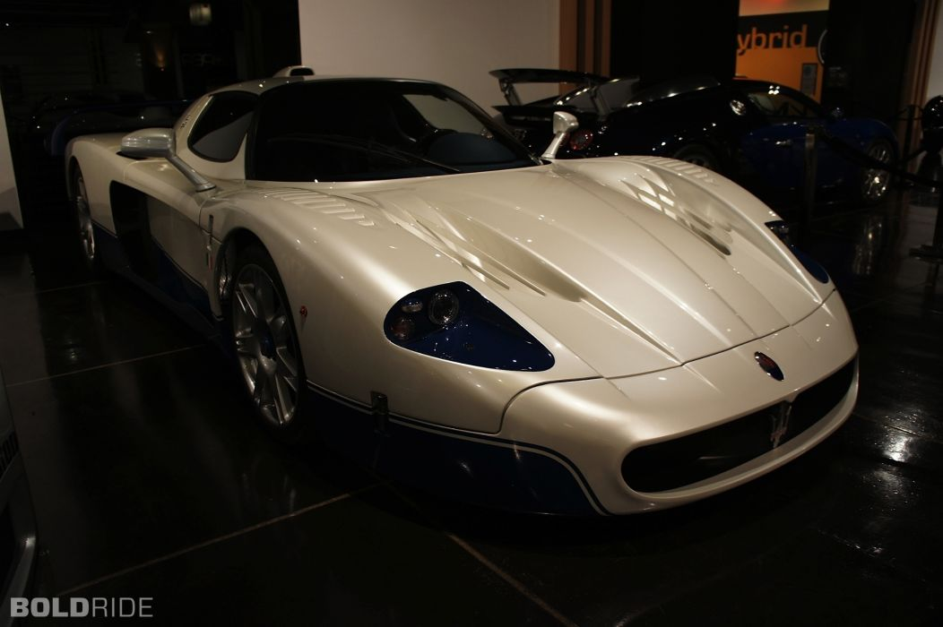 2005 Maserati MC12 supercar supercars     f wallpaper