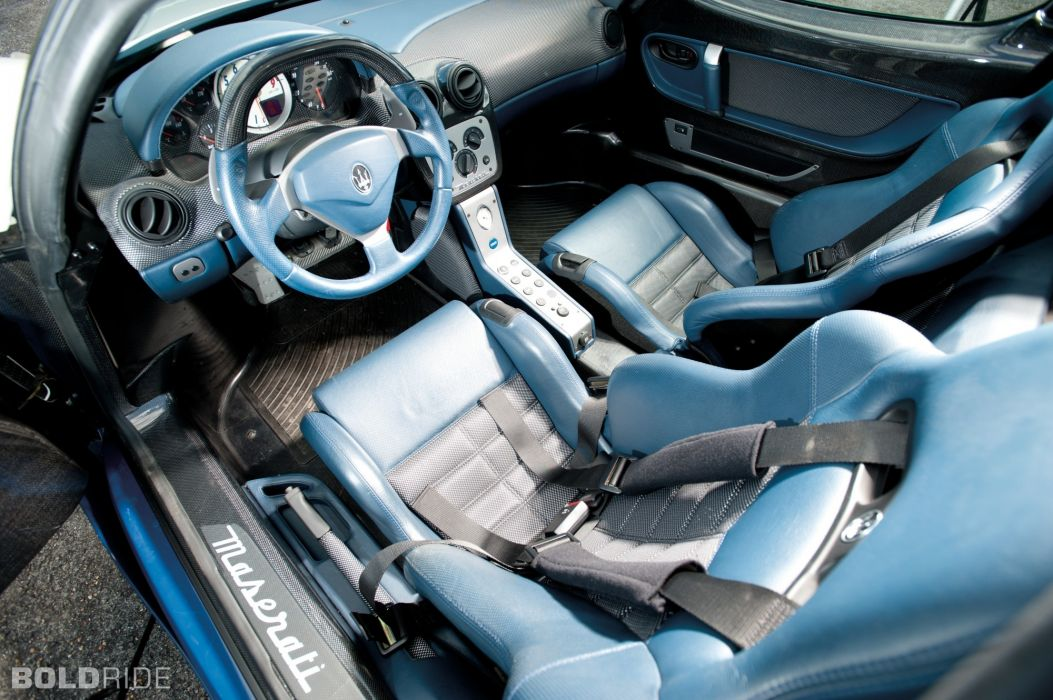 2005 Maserati MC12 supercar supercars interior wallpaper