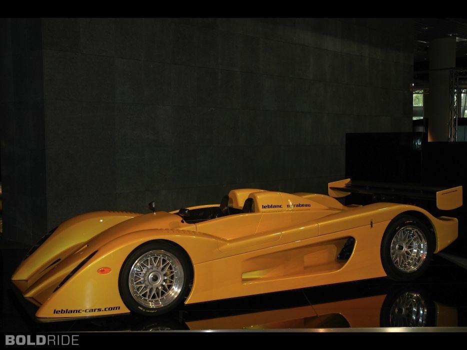 2005 Leblanc Mirabeau supercar supercars   f wallpaper