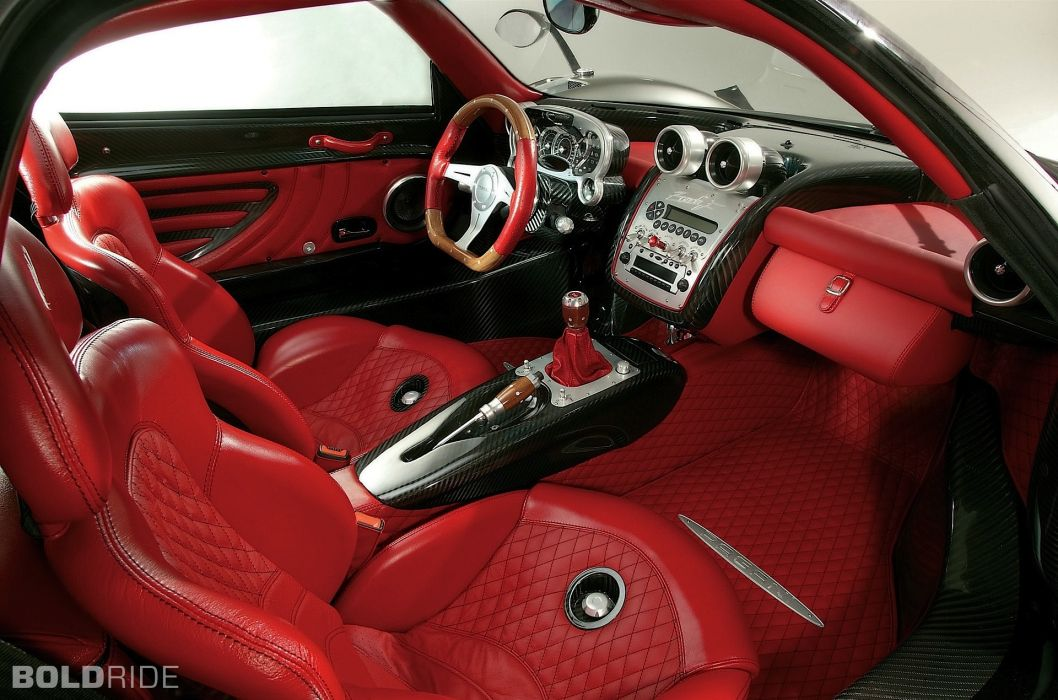 2005 Pagani Zonda F supercar supercars interior wallpaper