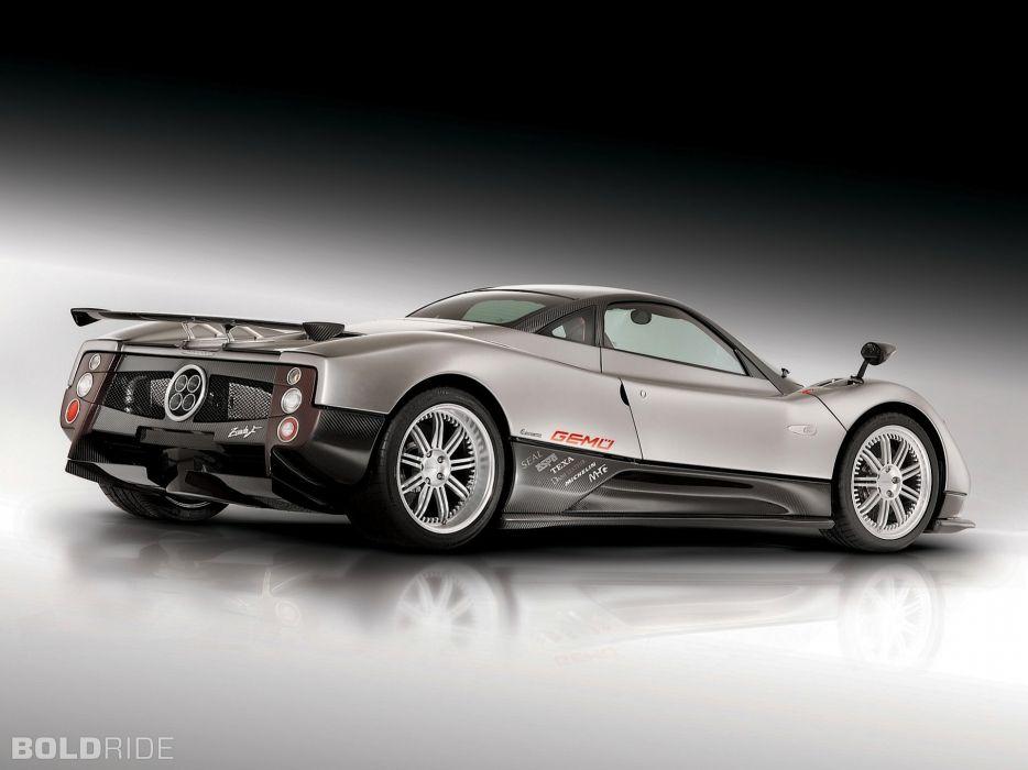 2005 Pagani Zonda F supercar supercars t wallpaper