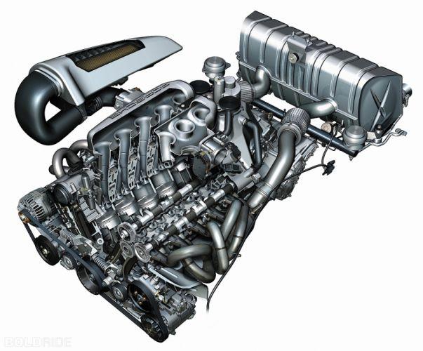 2005 Porsche Carrera G-T supercar supercars engine engines wallpaper