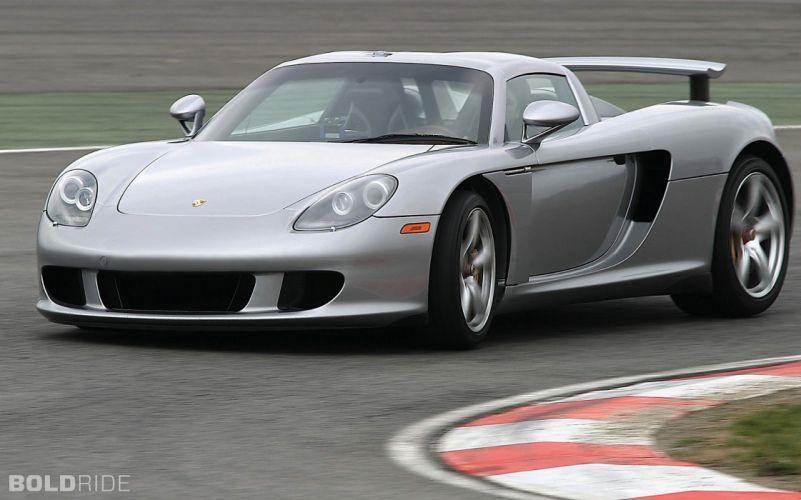 2005 Porsche Carrera G-T supercar supercars q wallpaper