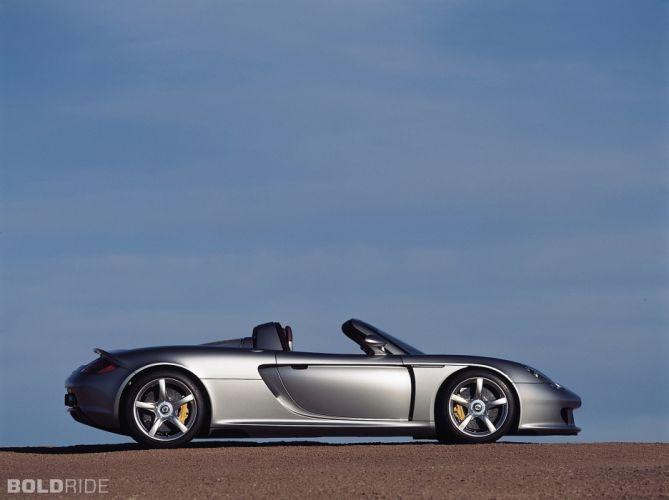 2005 Porsche Carrera G-T supercar supercars wallpaper